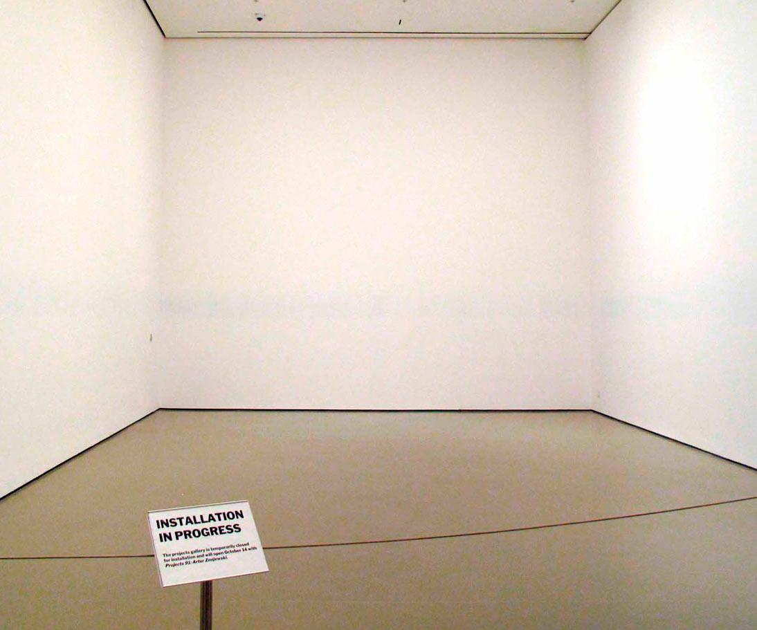 Modern art installation for Minimal art installation