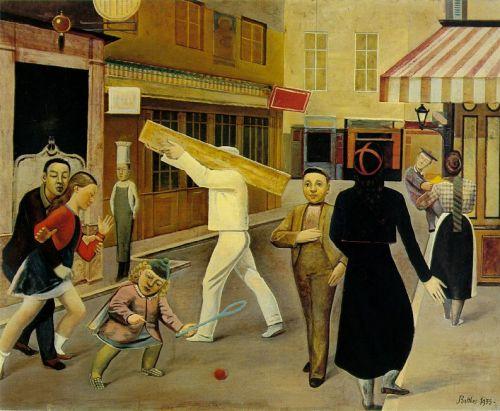 balthus-The Street 33