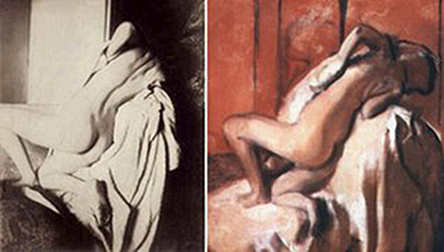 Degas nudes