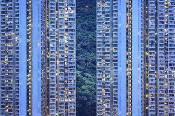 The Blue Moment #20, Hong Kong, 2015